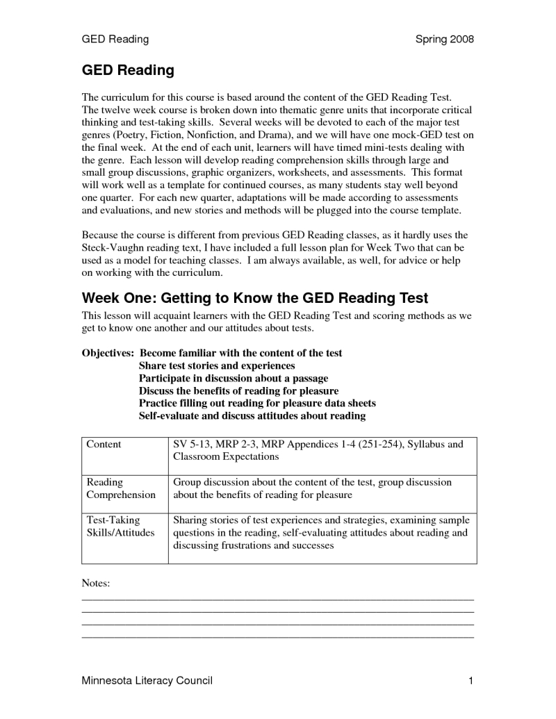 020 Ged Practice Test Printable Worksheets 109077Resize8002C1035 | Printable Ged Science Practice Worksheets