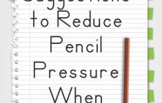 10 Suggestions To Reduce Pencil Pressure When Writing – Your Therapy | Handwriting Without Tears Worksheets Free Printable