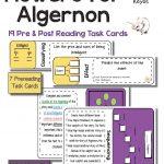 "19 Task Cards. Use The Intriguing Short Story, ""Flowers For Algernon | Flowers For Algernon Printable Worksheets"