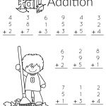 1St Grade Math And Literacy Worksheets With A Freebie! | Teachers | 1St Grade Math Addition Worksheets Printable