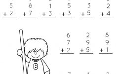 1St Grade Math And Literacy Worksheets With A Freebie! | Teachers | Free Printable Worksheets For 1St Grade