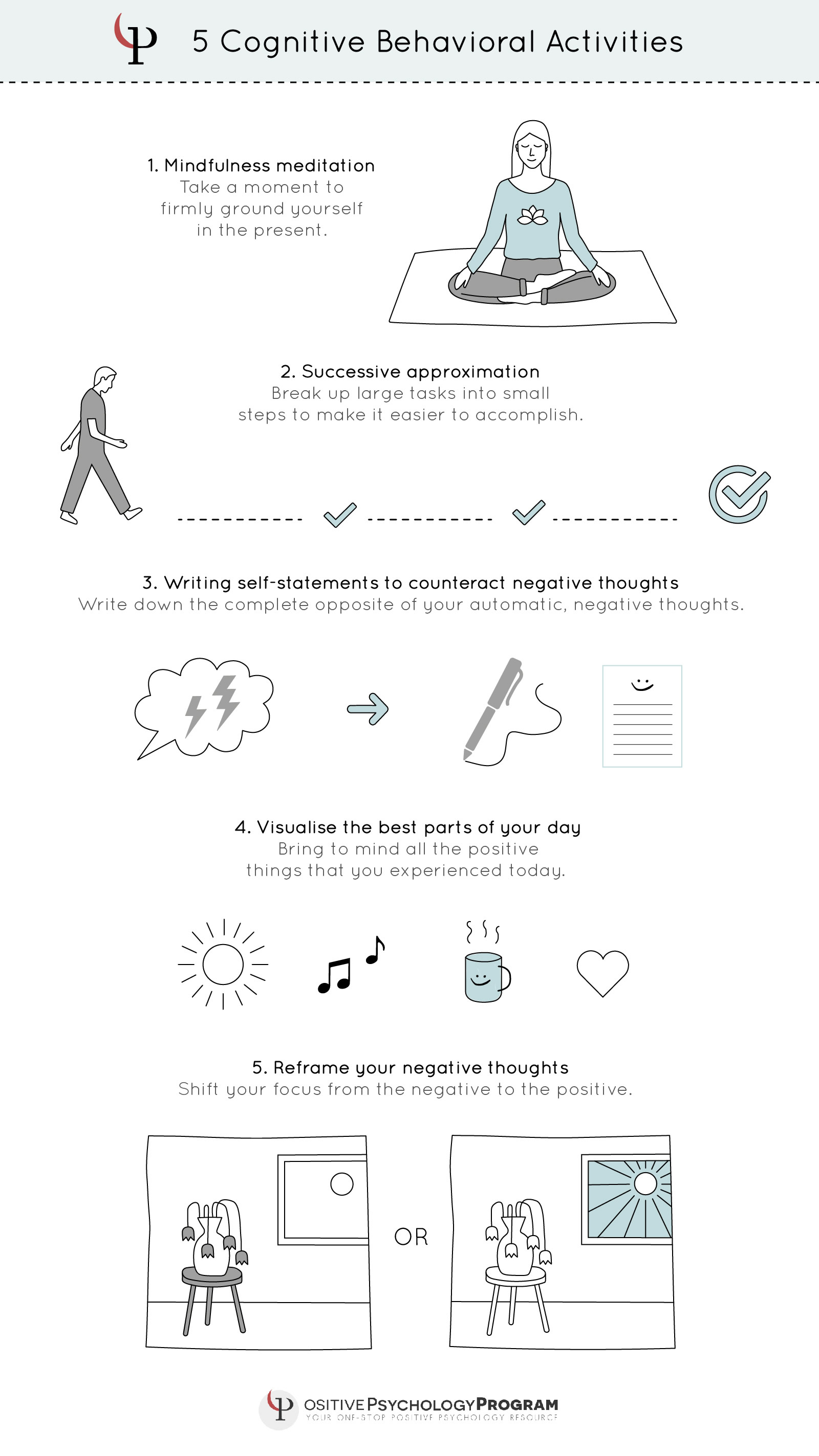 25 Cbt Techniques And Worksheets For Cognitive Behavioral Therapy | Cbt Printable Worksheets