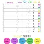 38 Debt Snowball Spreadsheets, Forms & Calculators ❄❄❄ | Free Printable Debt Snowball Worksheet