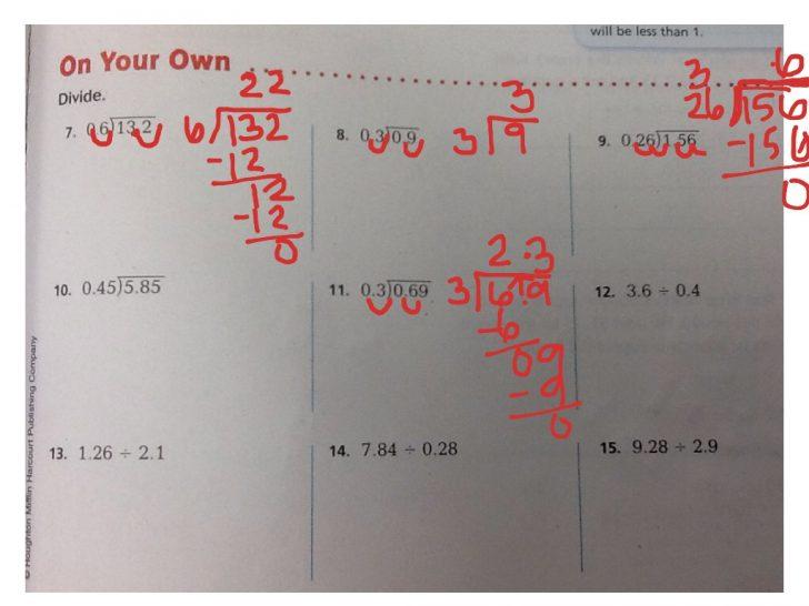 Go Math Printable Worksheets