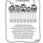 5 Little Pumpkins Worksheet   Free Esl Printable Worksheets Made | Five Little Pumpkins Printable Worksheet