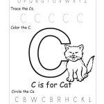 6 Best Images Of Free Printable Preschool Worksheets Letter C | Day | Free Printable Preschool Worksheets Letter C