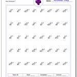 676 Division Worksheets For You To Print Right Now | Printable Simple Division Worksheets