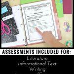 6Th Grade Ela Assessments Reading Comprehension   Grammar   Writing | Printable Worksheets For 6Th Grade Language Arts