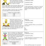 6Th Grade Hypothesis Worksheet Refrence 7 Independent And Dependent | Science Worksheets Ks2 Printable