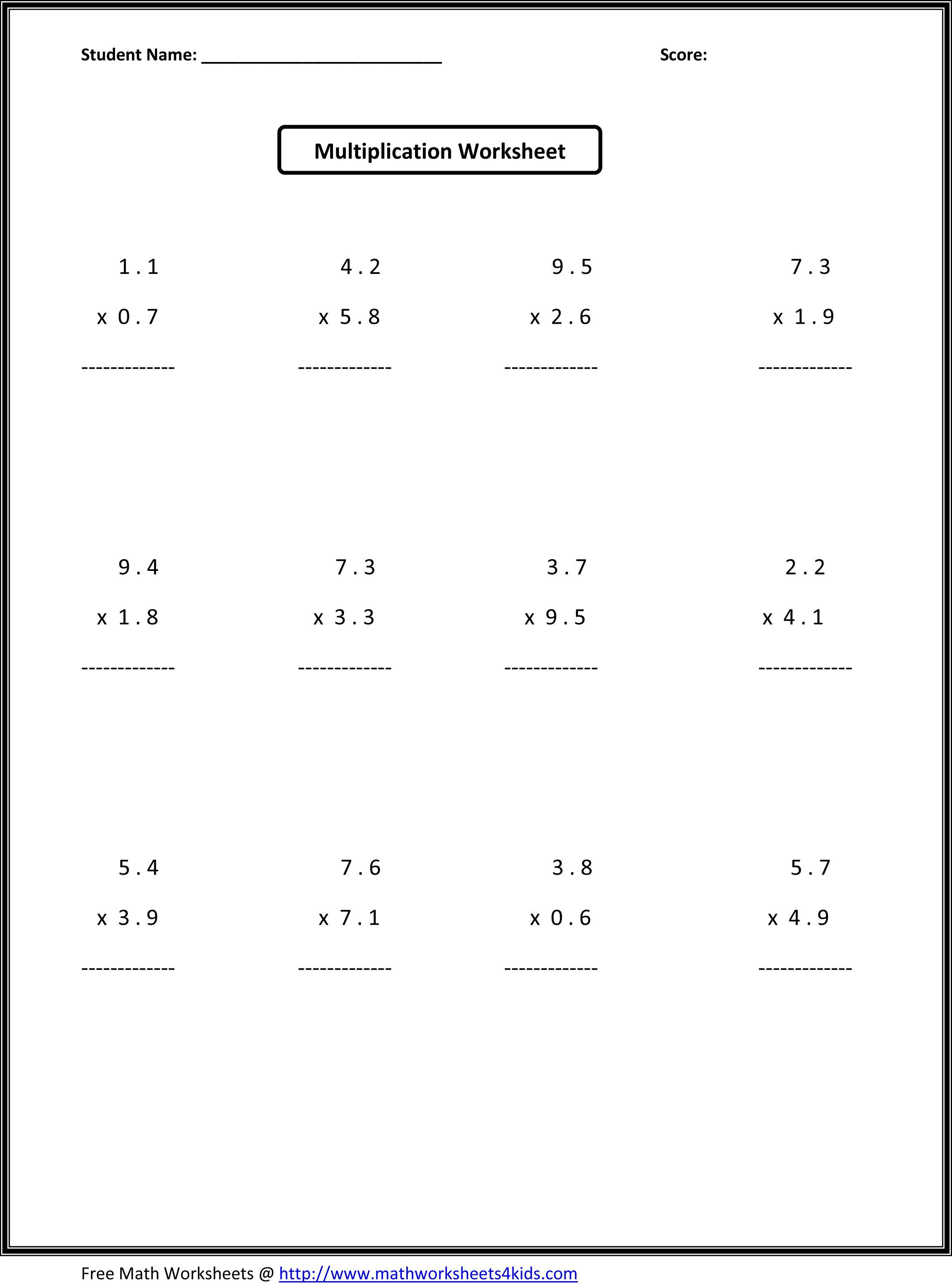 7Th Grade Math Worksheets   Value Worksheets Absolute Value   7Th Grade Printable Worksheets