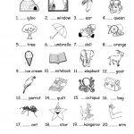 A/an Worksheet   Free Esl Printable Worksheets Madeteachers | A An Worksheets Printable