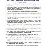 Aa Resources | Laurel Recovery | 368 Main Street Laurel Maryland 20707 | Aa 12 Steps Printable Worksheets