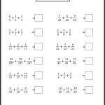 Algebra: Printables 4Th Grade Algebra Worksheets Lemonlilyfestival | Algebra Worksheets For 4Th Grade Printable