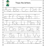 Alphabet Free Writing Worksheets For Kindergarten Handwriting   Free | Free Printable Writing Worksheets For Kindergarten