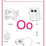 Alphabet Letter O Worksheet   Free Esl Printable Worksheets Made | Letter O Printable Worksheets