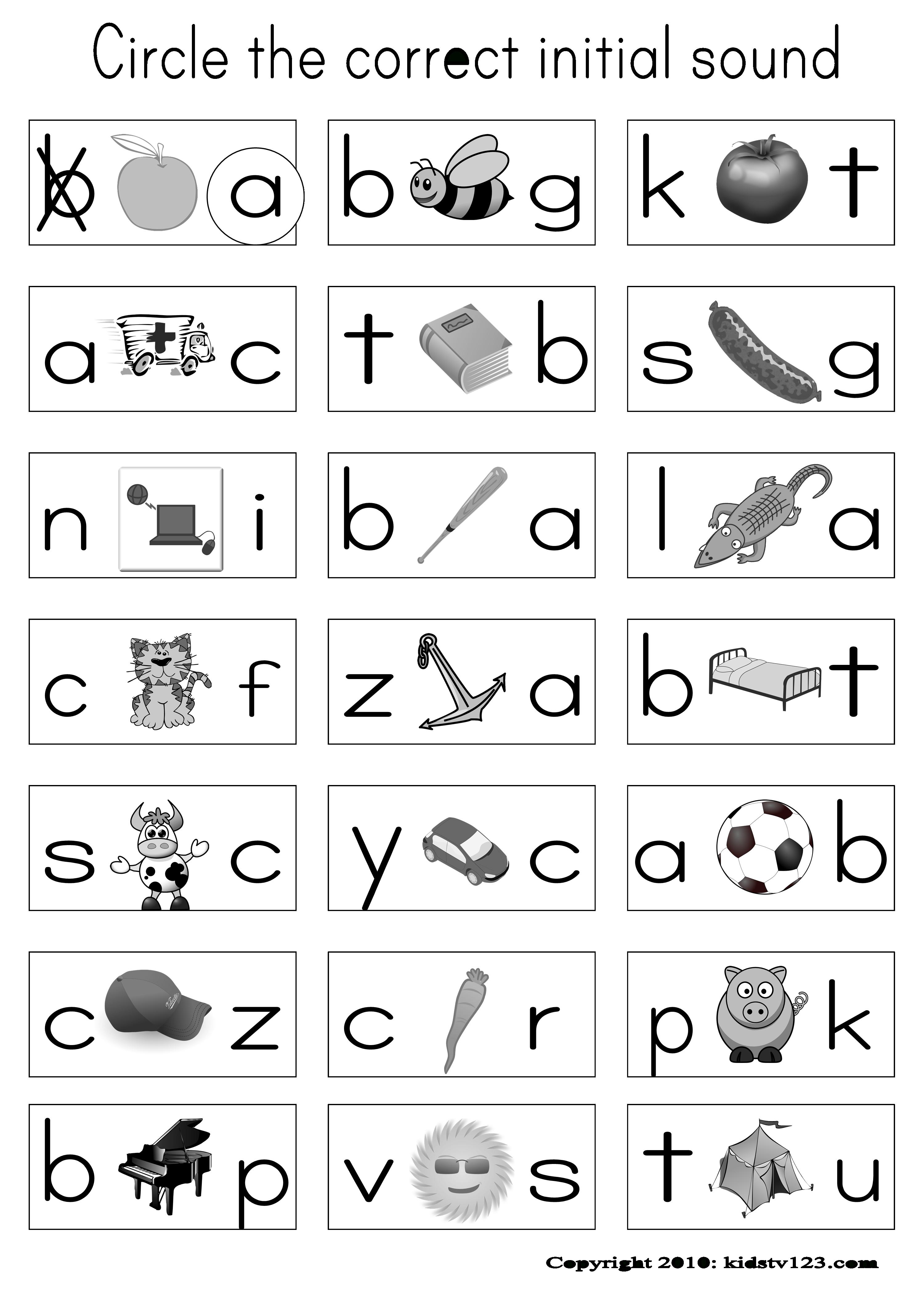 Alphabet & Phonics Worksheets | Teaching Ideas | Pinterest | Phonics | Hooked On Phonics Free Printable Worksheets
