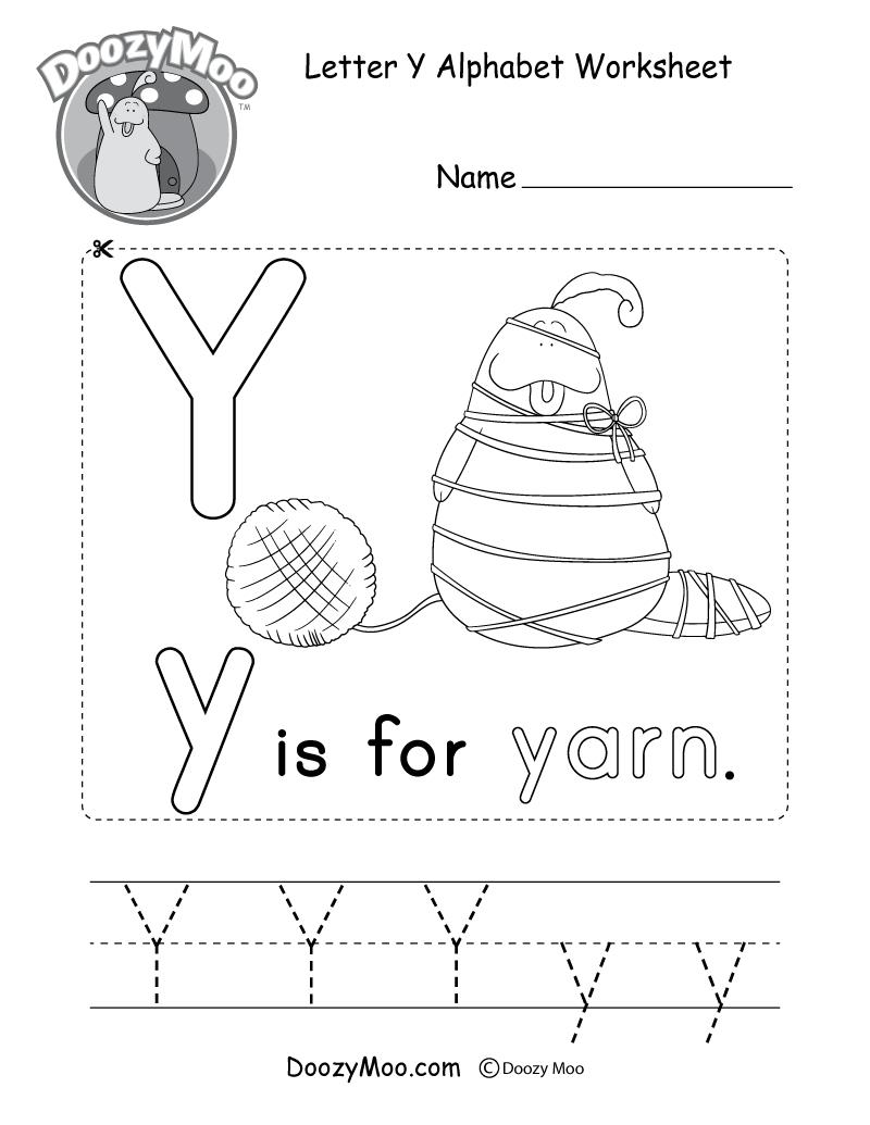 Alphabet Worksheets (Free Printables) - Doozy Moo   Printable Alphabet Worksheets