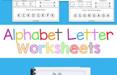Alphabet Worksheets – Fun With Mama | Childrens Printable Alphabet Worksheets