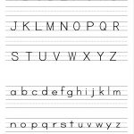 Alphabet Writing Practice Sheet | Edu Fun | Alphabet Worksheets | Free Printable Writing Worksheets For Kindergarten