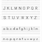 Alphabet Writing Practice Sheet | Edu Fun | Alphabet Worksheets | Printable Letter Worksheets For Preschoolers