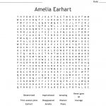 Amelia Earhart Word Search   Wordmint | Amelia Earhart Free Worksheets Printable