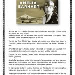 Amelia Earhart Worksheet   Free Esl Printable Worksheets Made | Amelia Earhart Free Worksheets Printable