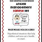 Anger Management Free Printable: Problem Solving   The Helpful Counselor | Anger Management Printable Worksheets