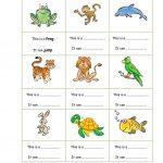 Animals   Can Worksheet   Free Esl Printable Worksheets Made | Los Animales Printable Worksheets