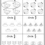 Assessment   Color The Fractions Worksheets | Fractions | Fractions | Free Printable First Grade Fraction Worksheets