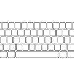 Blank Keyboard Template | Ginger's $1 Tech Shop | Computer Keyboard | Blank Keyboard Worksheet Printable