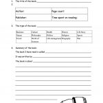 Book Report Form For Non Fiction Worksheet   Free Esl Printable | Book Report Printable Worksheets