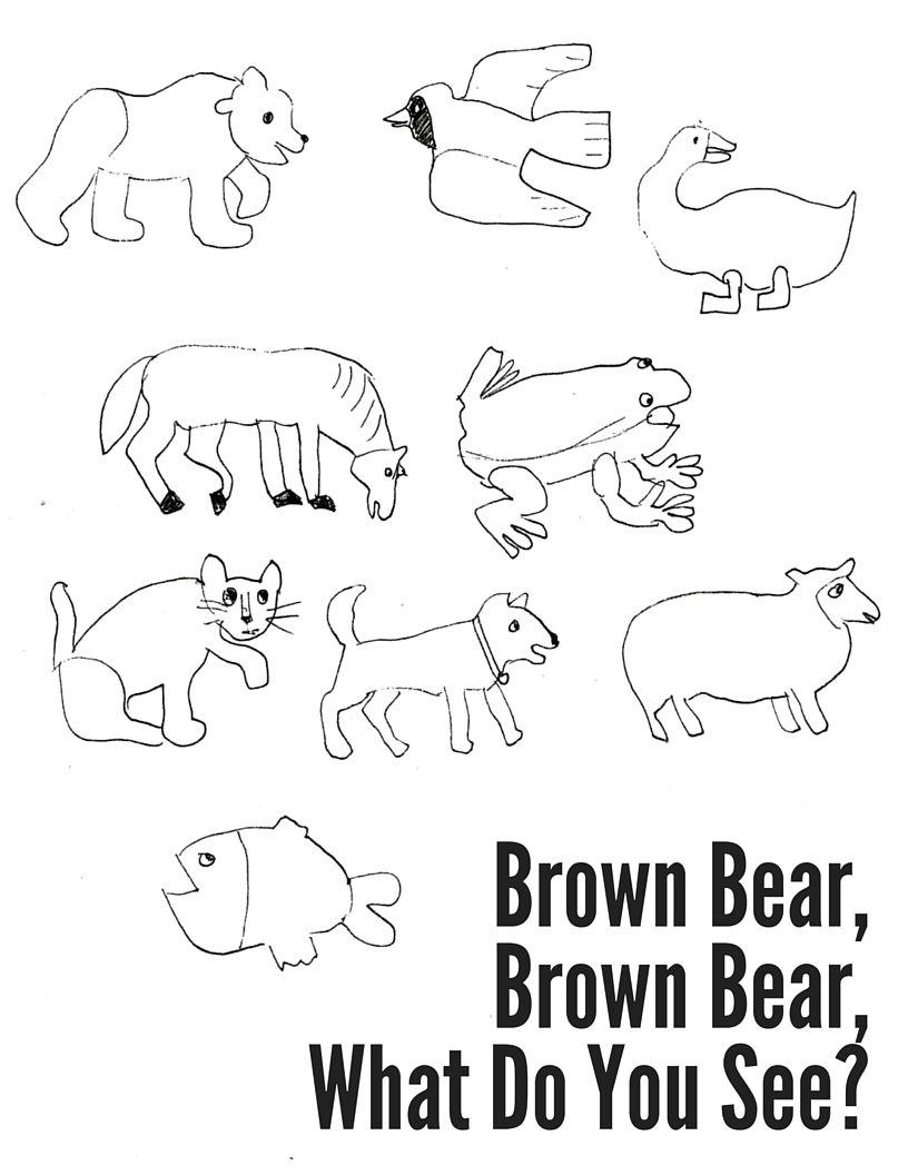 Brown Bear, Brown Bear Coloring Sheet   Activities   Coloring Sheets   Brown Bear Brown Bear Printable Worksheets