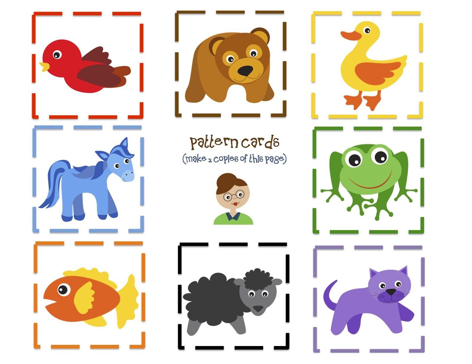 Brown Bear Fun Printable   Preschool   Preschool Printables   Brown Bear Brown Bear Printable Worksheets