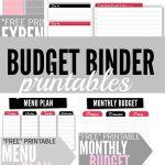 Budget Binder Printables   Single Moms Income | Printable Budget Binder Worksheets