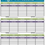 Budget Worksheet Printable | Get Paid Weekly And Charlie Gets Paid | Budget Helper Worksheet Printable