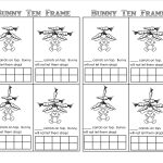 Bunny Time Ten Frame! (Free Printables)   Teaching Heart Blog | Frame Games Printable Worksheets