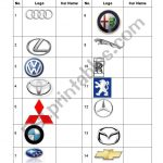 Car Logos Quiz   Esl Worksheetrenda | Printable Logo Quiz Worksheet