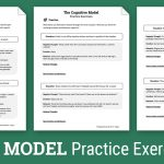 Cbt Practice Exercises (Worksheet) | Therapist Aid   Free Printable | Printable Mental Health Worksheets For Adults