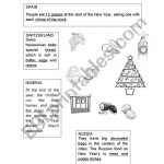 Christmas Around The World   Esl Worksheetjag6 | Christmas Around The World Worksheets Printables
