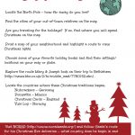 Christmas Around The World: Santa's Name (Free Printable | Christmas Around The World Worksheets Printables