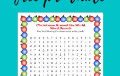 Christmas Around The World Worksheets Printables