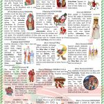 Christmas Around The World Worksheet   Free Esl Printable Worksheets | Christmas Around The World Worksheets Printables