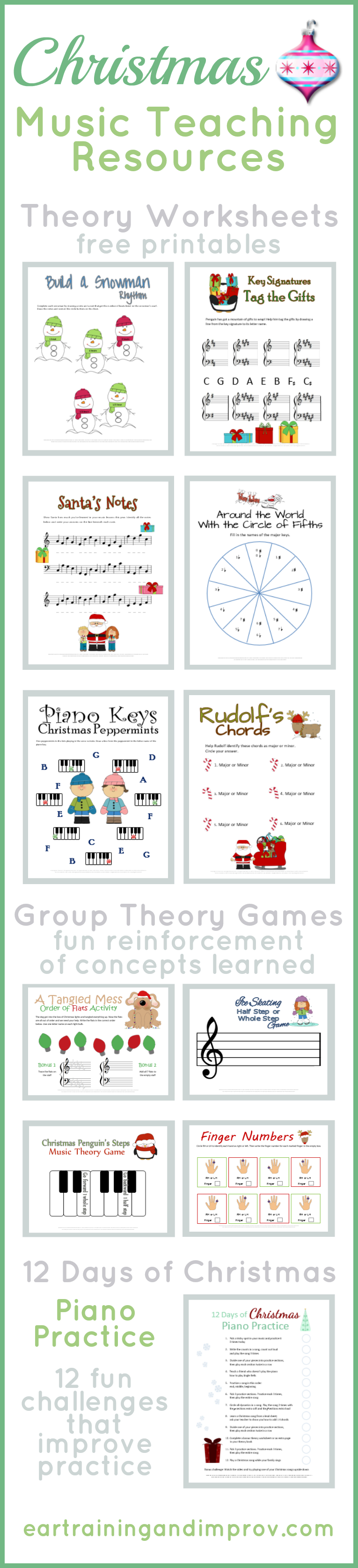 Christmas Music Theory Worksheets - 20+ Free Printables | Printable Theory Worksheets