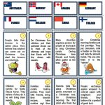 Christmas Traditions Around The World Worksheet   Free Esl Printable | Christmas Around The World Worksheets Printables