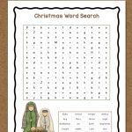Christmas Word Search: Free Printable   Mamas Learning Corner | Free Printable Christmas Worksheets For Third Grade