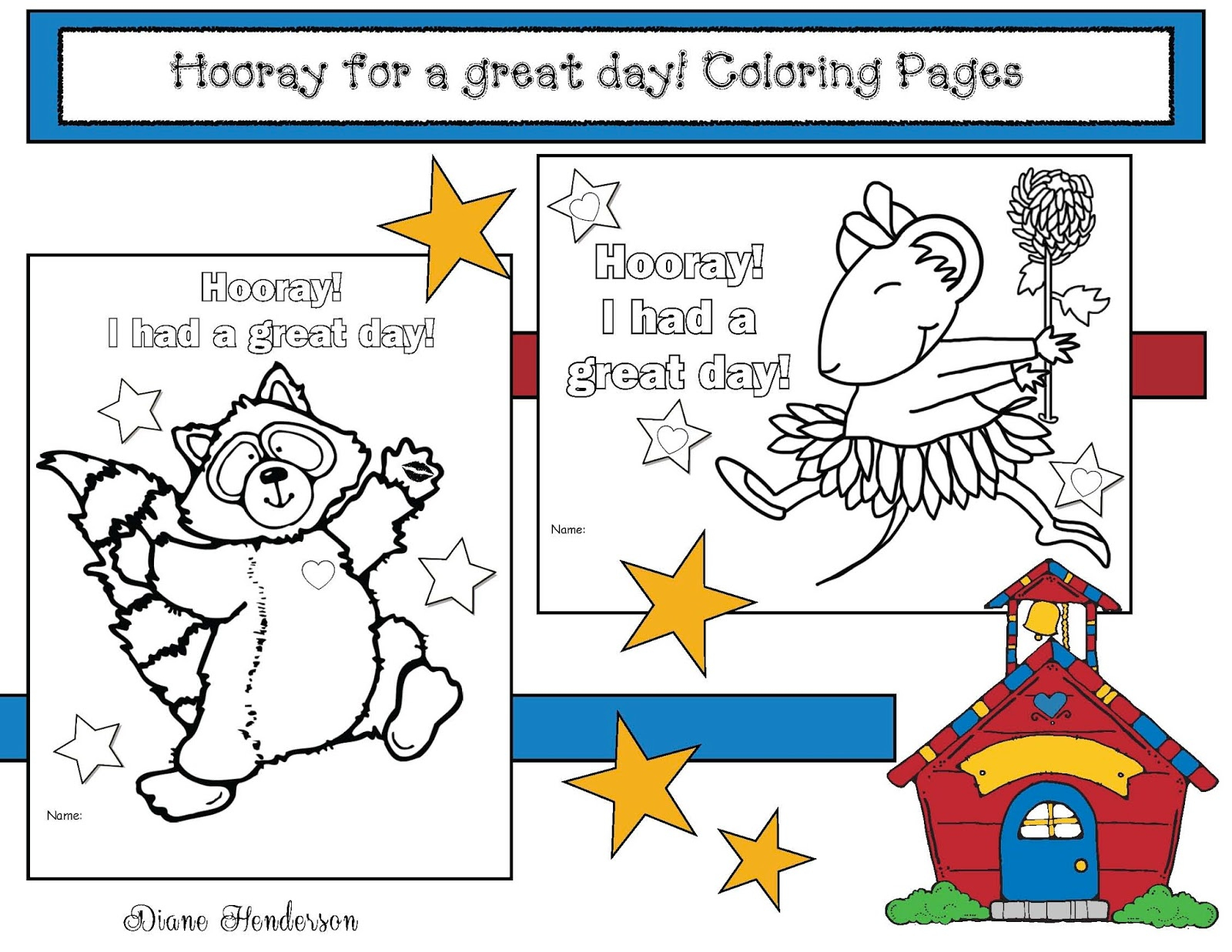 "Chrysanthemum"" And ""the Kissing Hand"" Activity - Classroom Freebies 