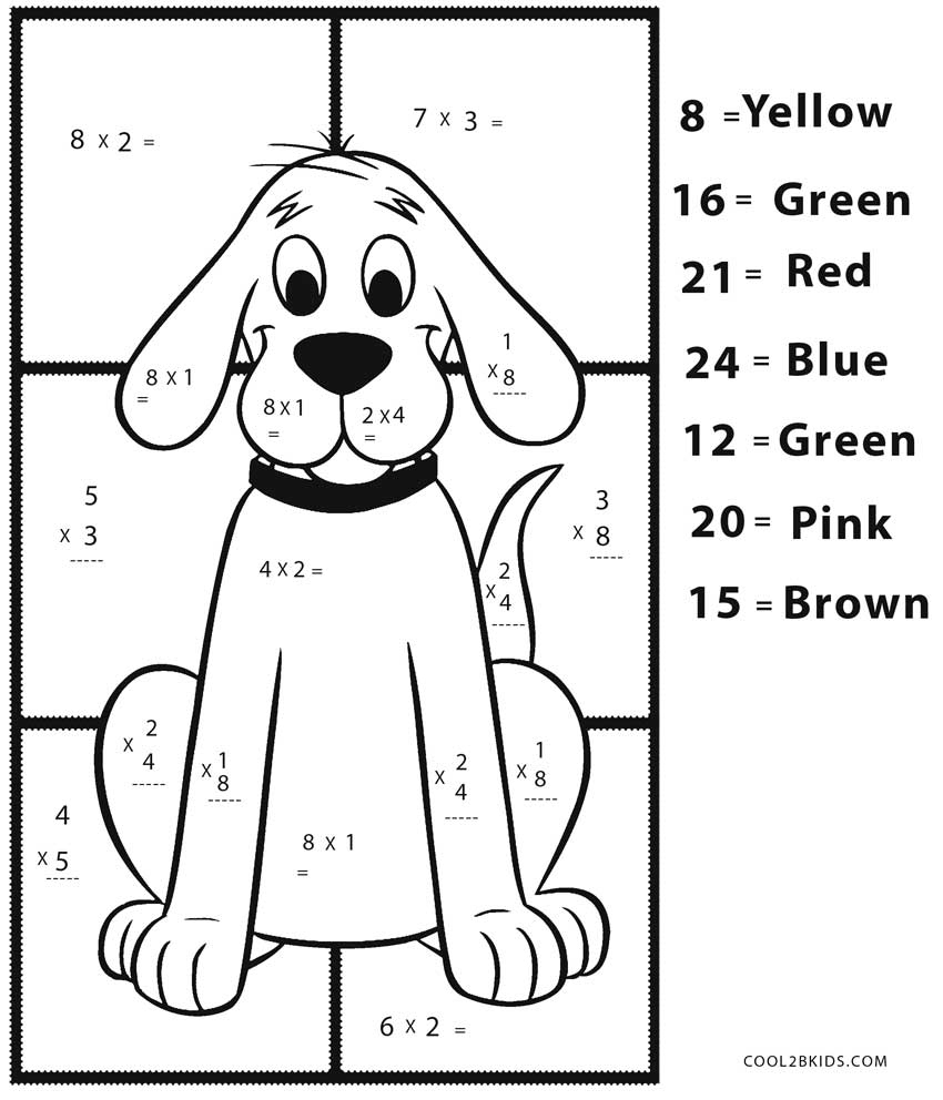 Coloring Ideas : Multiplicationing Worksheets Free Printable Math | Printable Math Coloring Worksheets