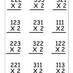 Copy Of Single Digit Multiplication Worksheets   Lessons   Tes Teach | 3 Digit Multiplication Worksheets Printable