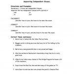 Correcting Run On Sentences Worksheet   Free Esl Printable | Free Printable Worksheets On Run On Sentences