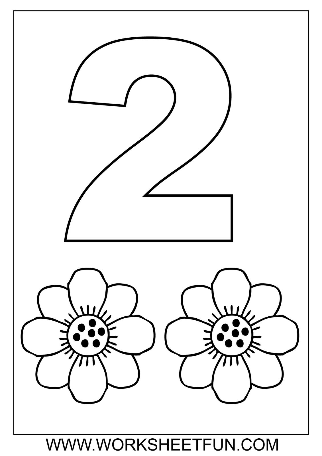 Crafts,actvities And Worksheets For Preschool,toddler And Kindergarten | Number One Worksheet Preschool Printable Activities